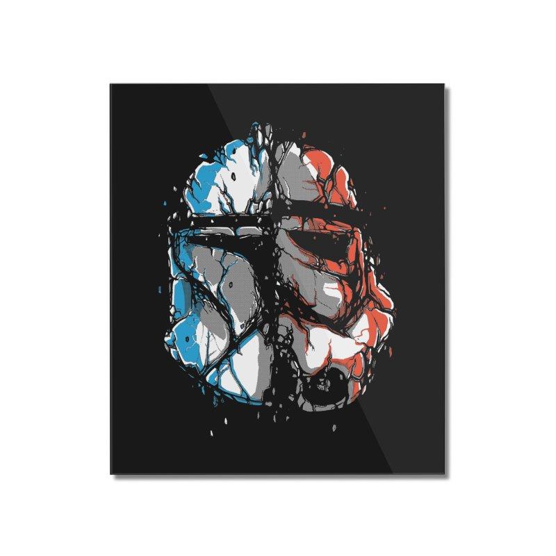 Republic vs Empire Home Mounted Acrylic Print by Rax's Artist Shop