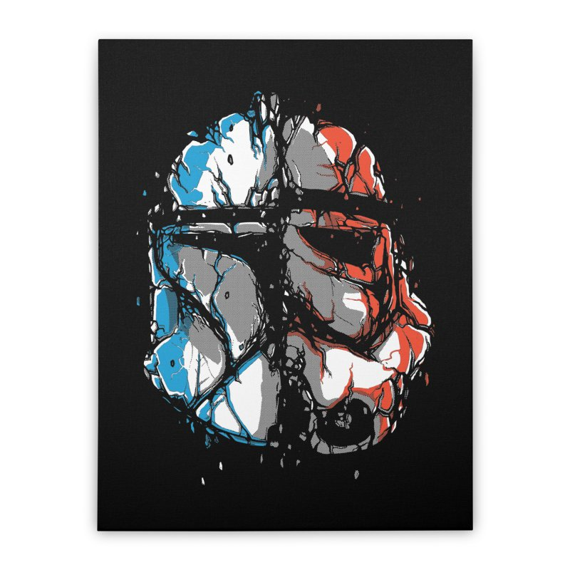 Republic vs Empire Home Stretched Canvas by Rax's Artist Shop