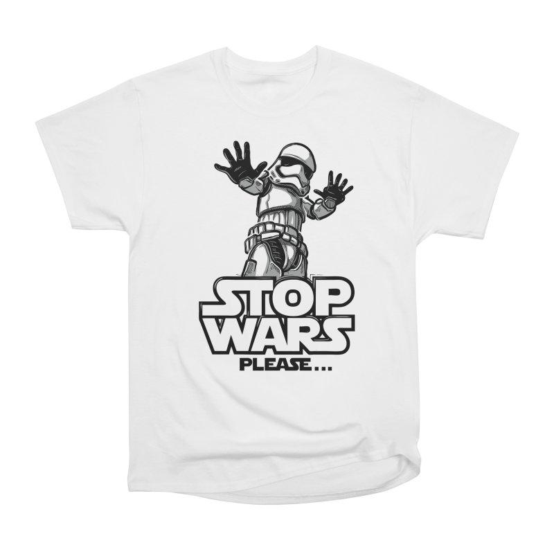 Stop wars, please! Women's T-Shirt by Rax's Artist Shop