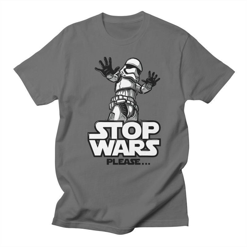 Stop wars, please! Men's T-Shirt by Rax's Artist Shop