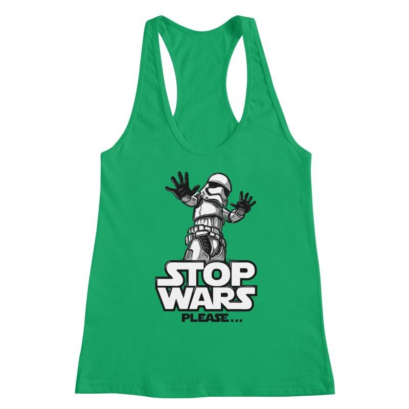 Stop wars, please! Women's Tank by Rax's Artist Shop
