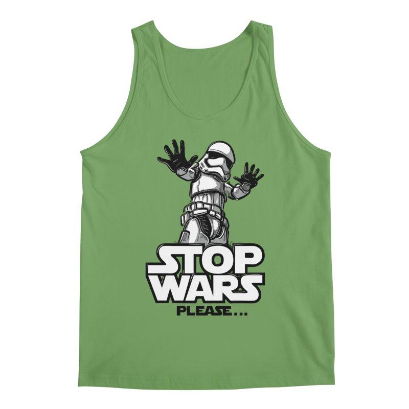 Stop wars, please! Men's Tank by Rax's Artist Shop