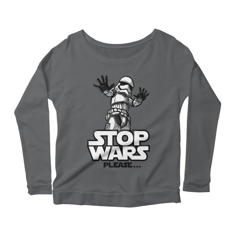 Stop wars, please! Women's Longsleeve T-Shirt by Rax's Artist Shop