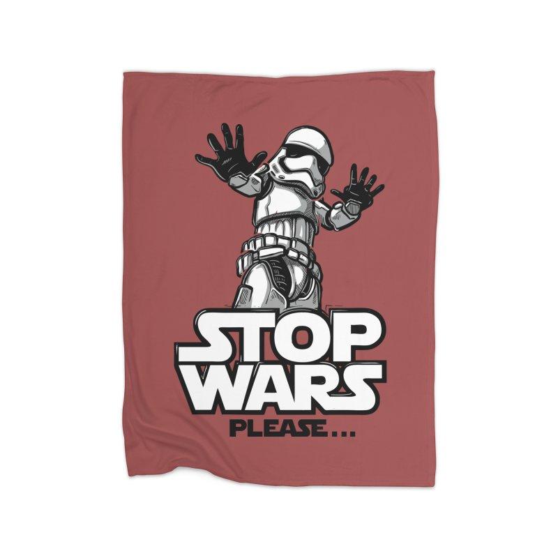Stop wars, please! Home Blanket by Rax's Artist Shop