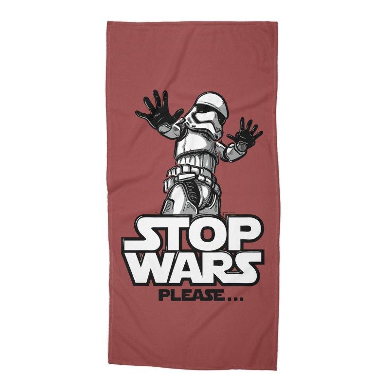 Stop wars, please! Accessories Beach Towel by Rax's Artist Shop