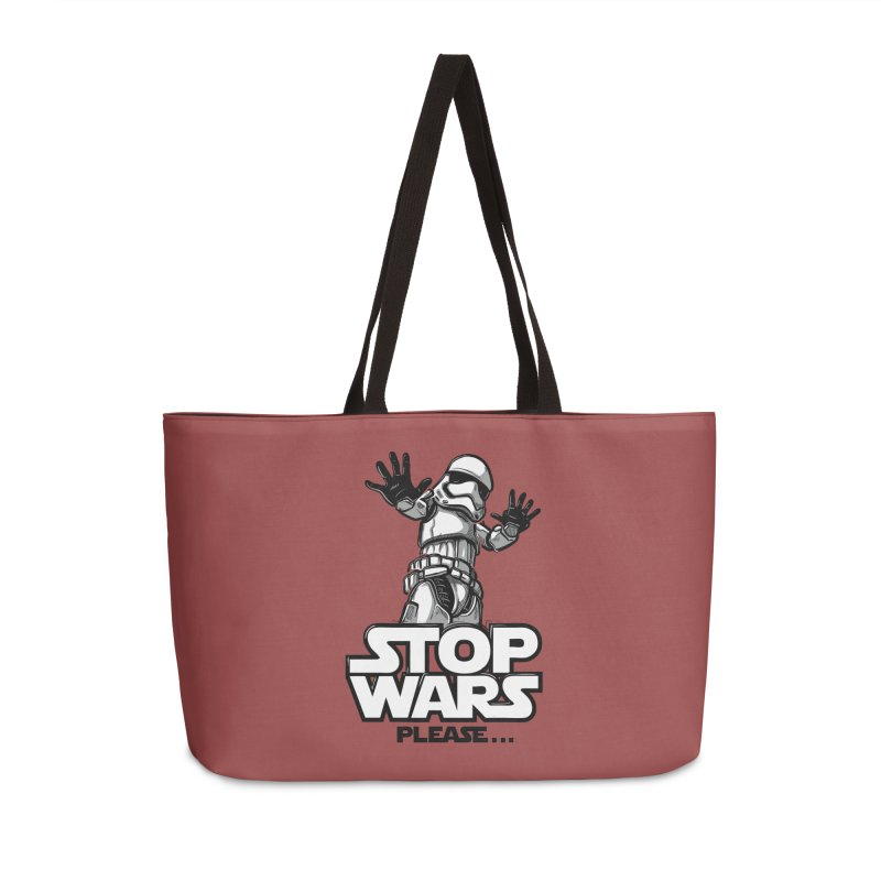 Stop wars, please! Accessories Bag by Rax's Artist Shop