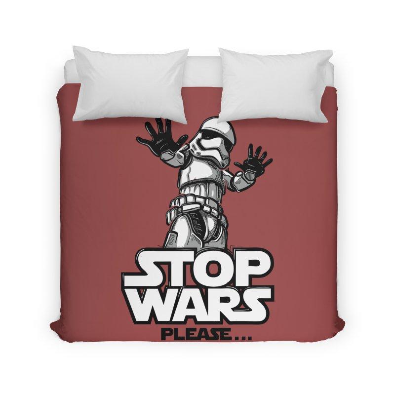 Stop wars, please! Home Duvet by Rax's Artist Shop