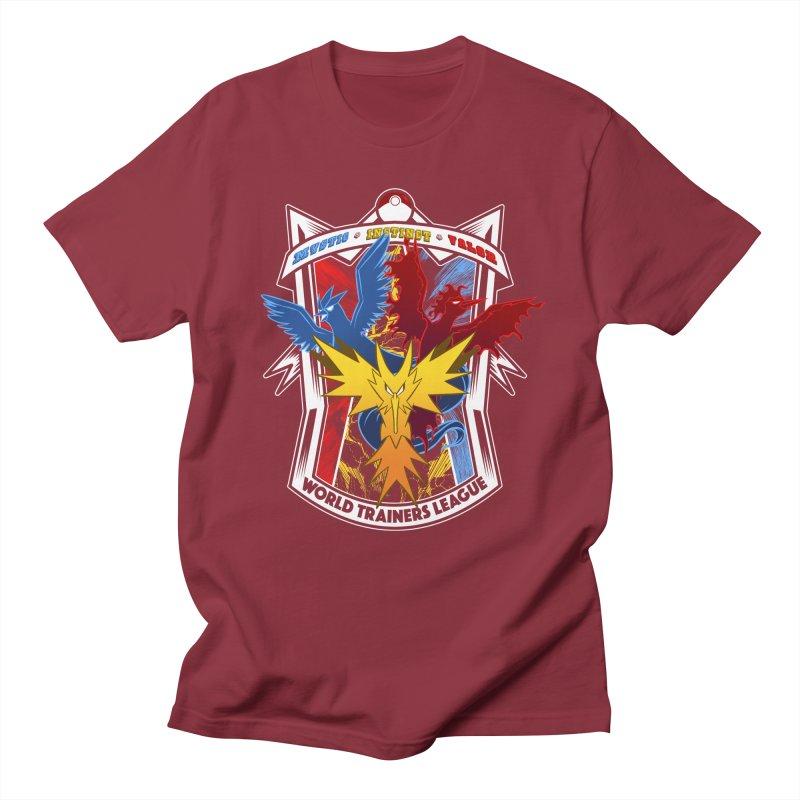 World Trainers League Men's T-Shirt by RazCity's Artist Shop