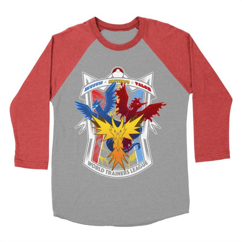 World Trainers League Women's Baseball Triblend T-Shirt by RazCity's Artist Shop