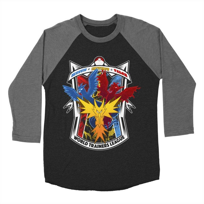 World Trainers League Men's Baseball Triblend T-Shirt by RazCity's Artist Shop