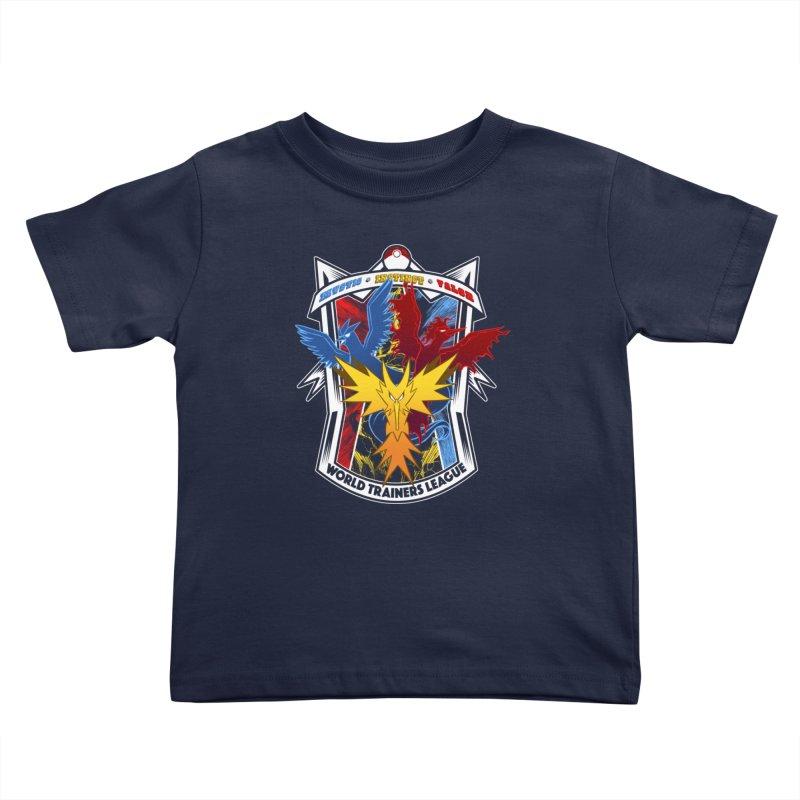 World Trainers League Kids Toddler T-Shirt by RazCity's Artist Shop