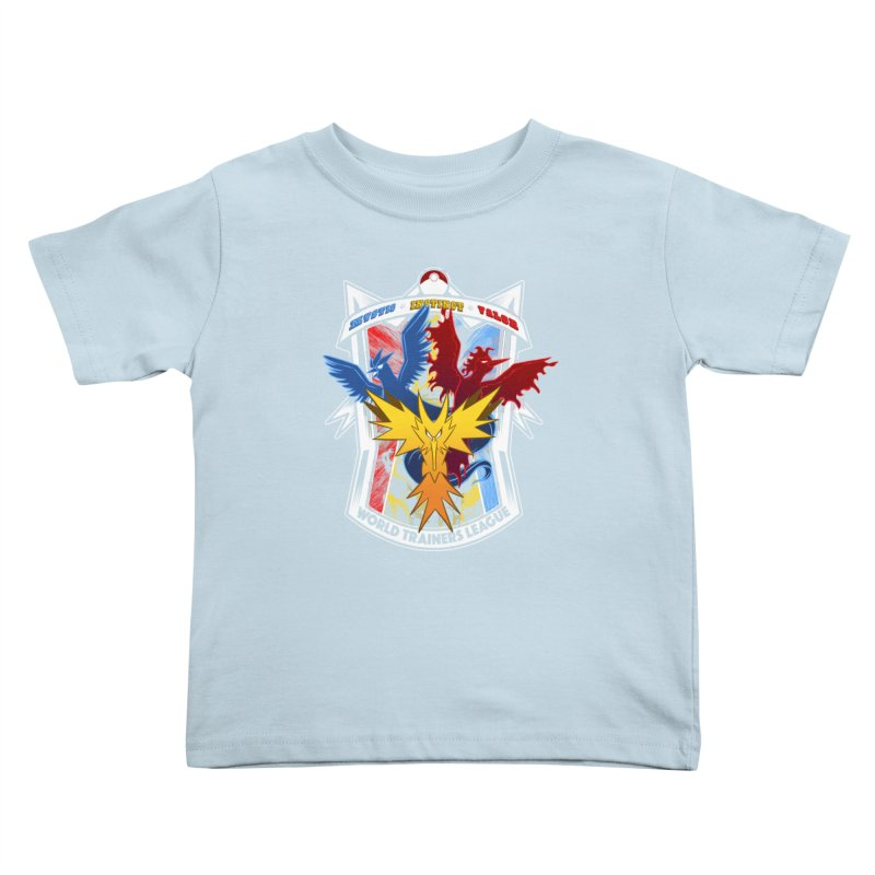 World Trainers League Kids Toddler T-Shirt by RazCity's Artist Shop