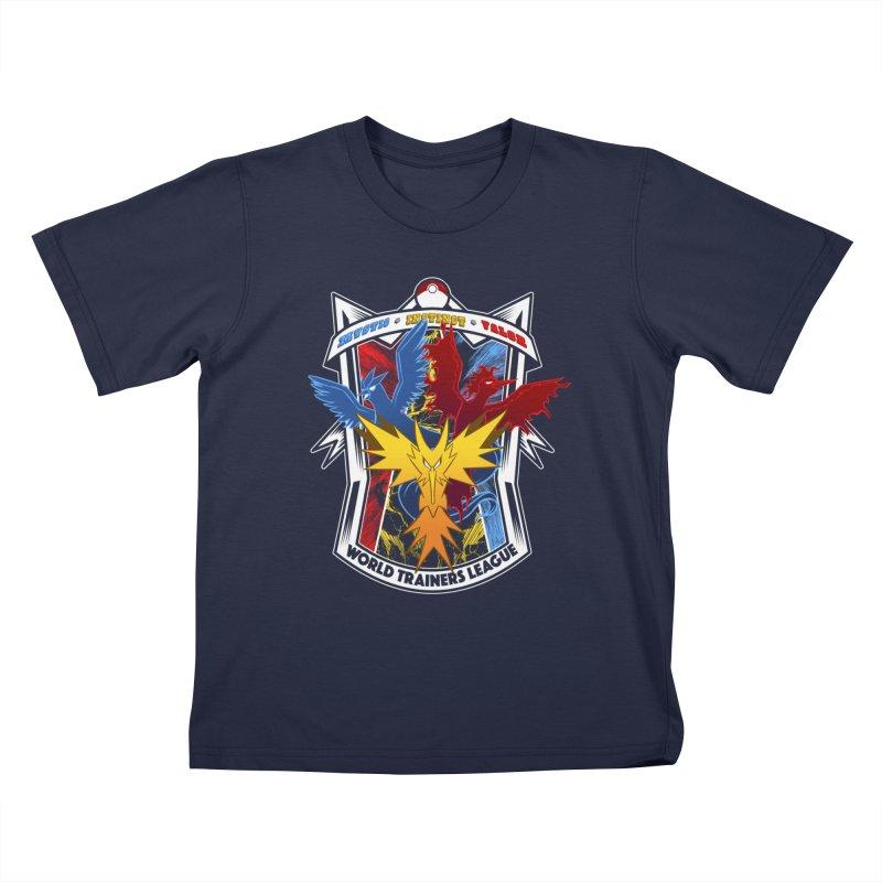 World Trainers League Kids T-Shirt by RazCity's Artist Shop