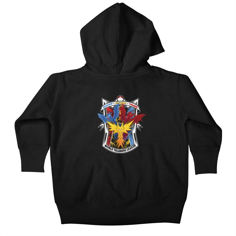 World Trainers League Kids Baby Zip-Up Hoody by RazCity's Artist Shop
