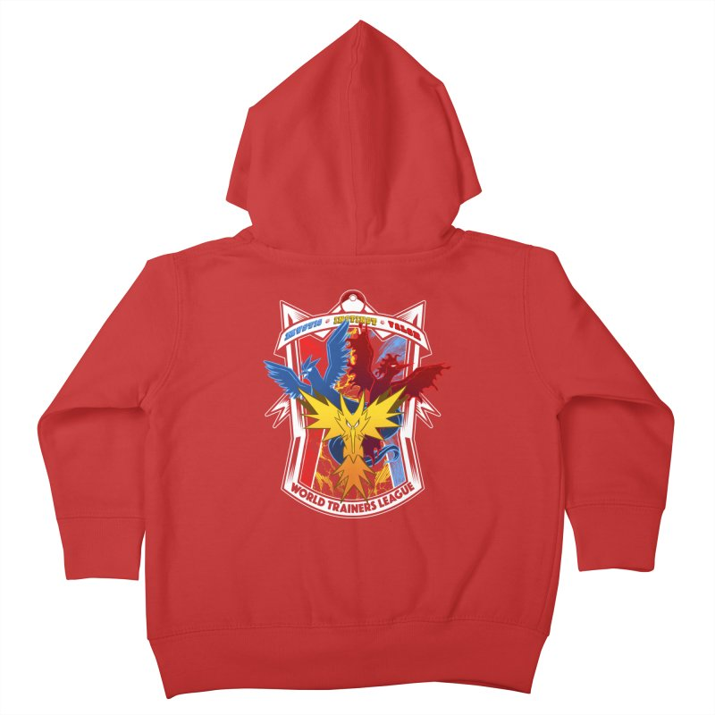 World Trainers League Kids Toddler Zip-Up Hoody by RazCity's Artist Shop