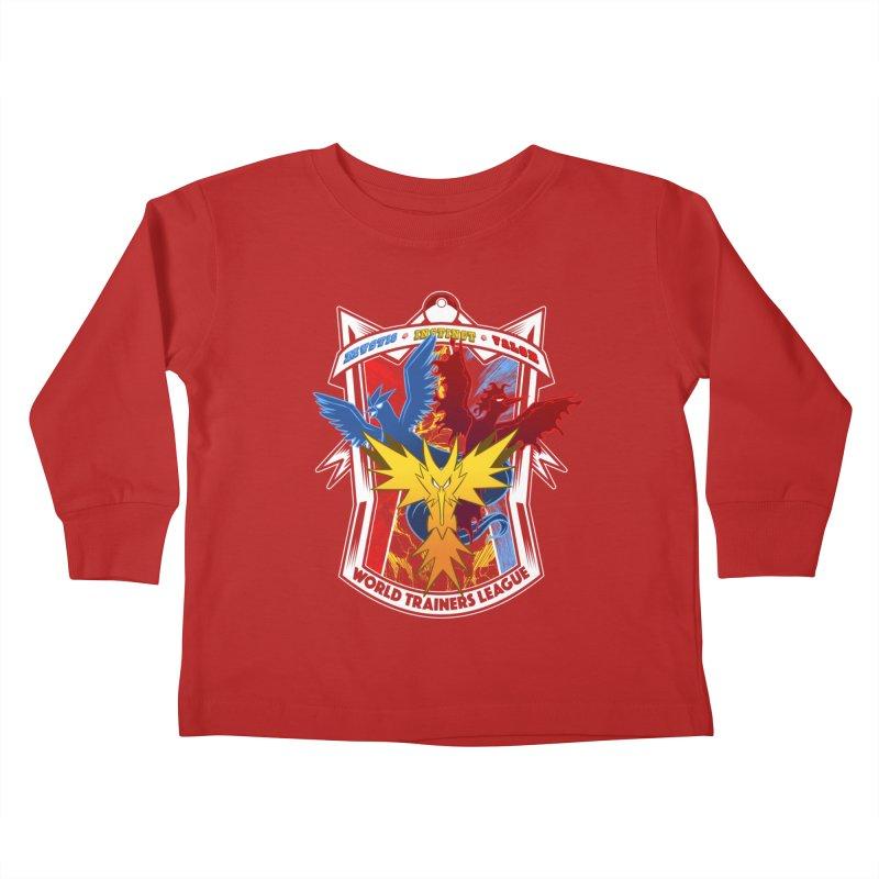 World Trainers League Kids Toddler Longsleeve T-Shirt by RazCity's Artist Shop