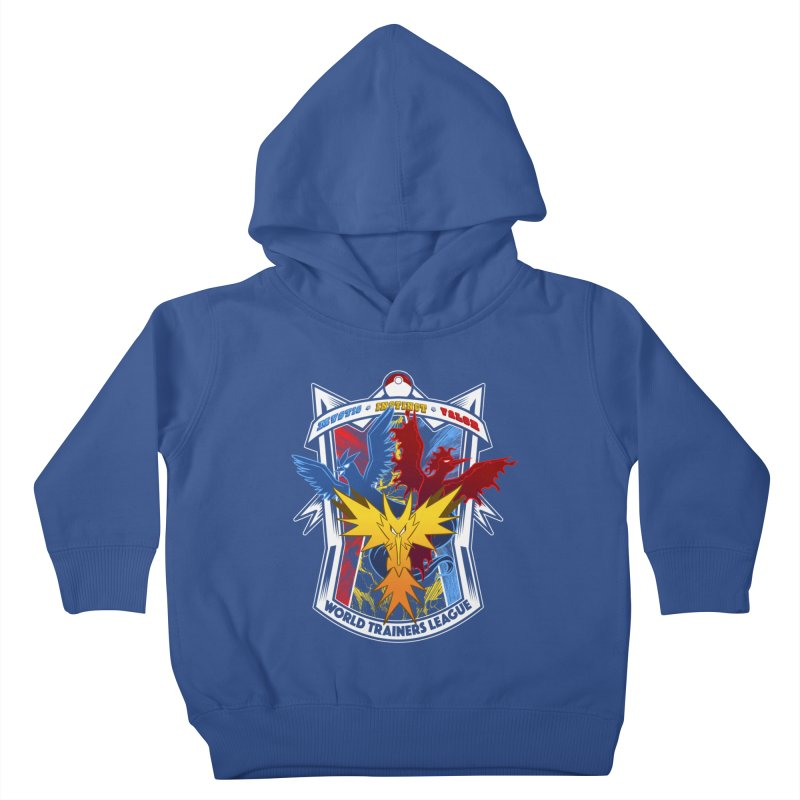 World Trainers League Kids Toddler Pullover Hoody by RazCity's Artist Shop