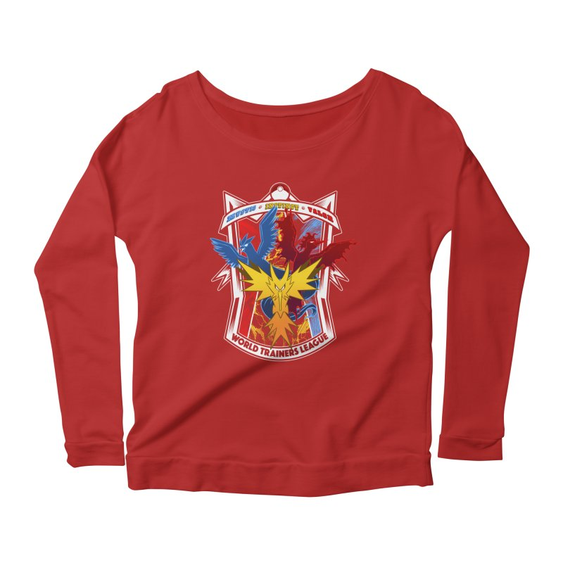 World Trainers League Women's Longsleeve Scoopneck  by RazCity's Artist Shop