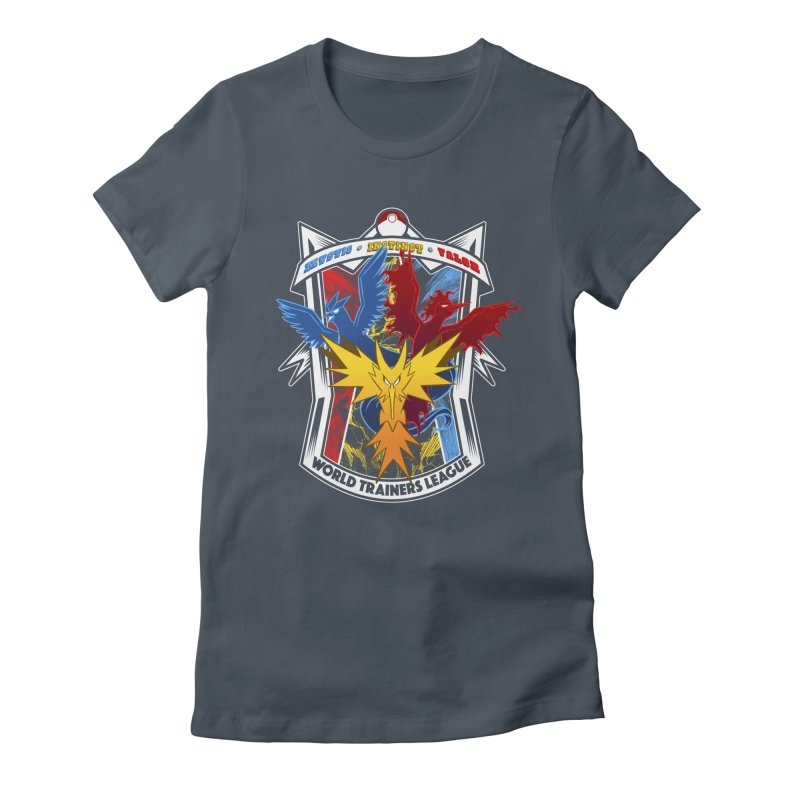World Trainers League Women's Fitted T-Shirt by RazCity's Artist Shop