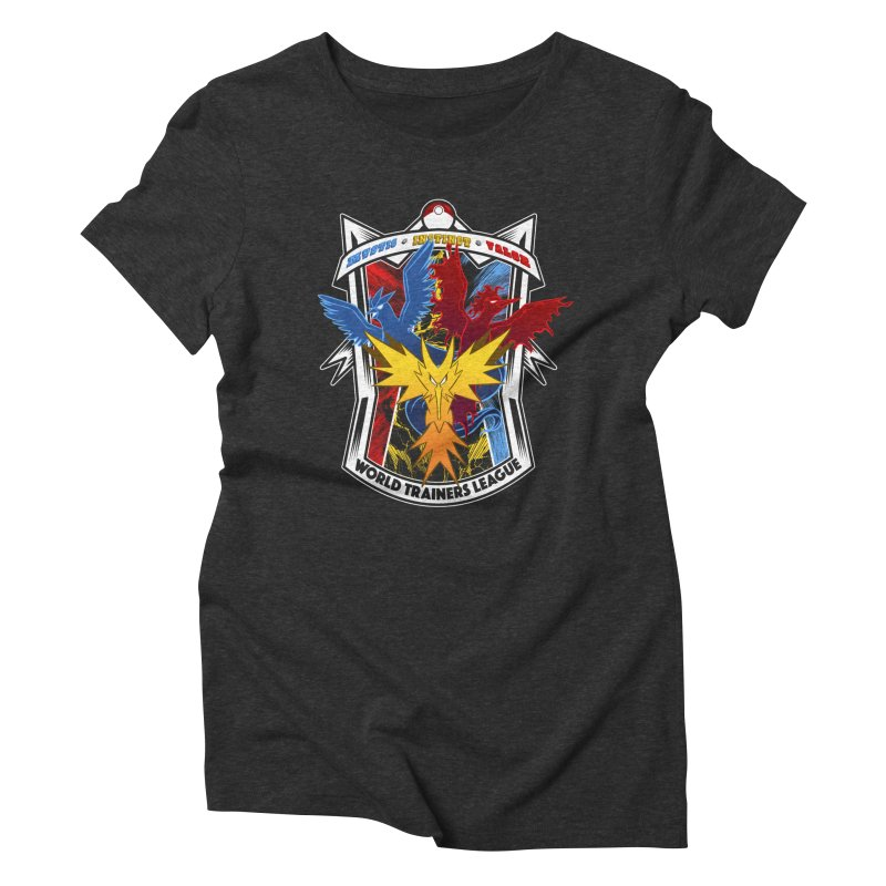 World Trainers League Women's Triblend T-shirt by RazCity's Artist Shop