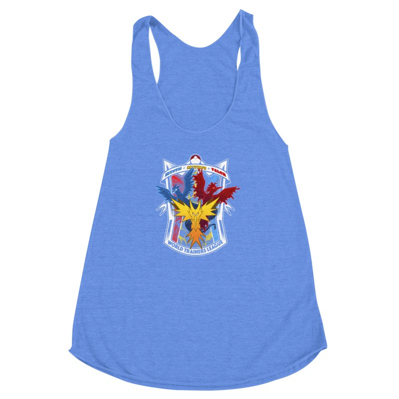 World Trainers League Women's Racerback Triblend Tank by RazCity's Artist Shop