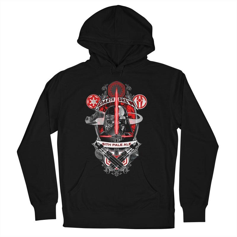 Darth Brew - Sith Pale Ale Men's Pullover Hoody by RazCity's Artist Shop