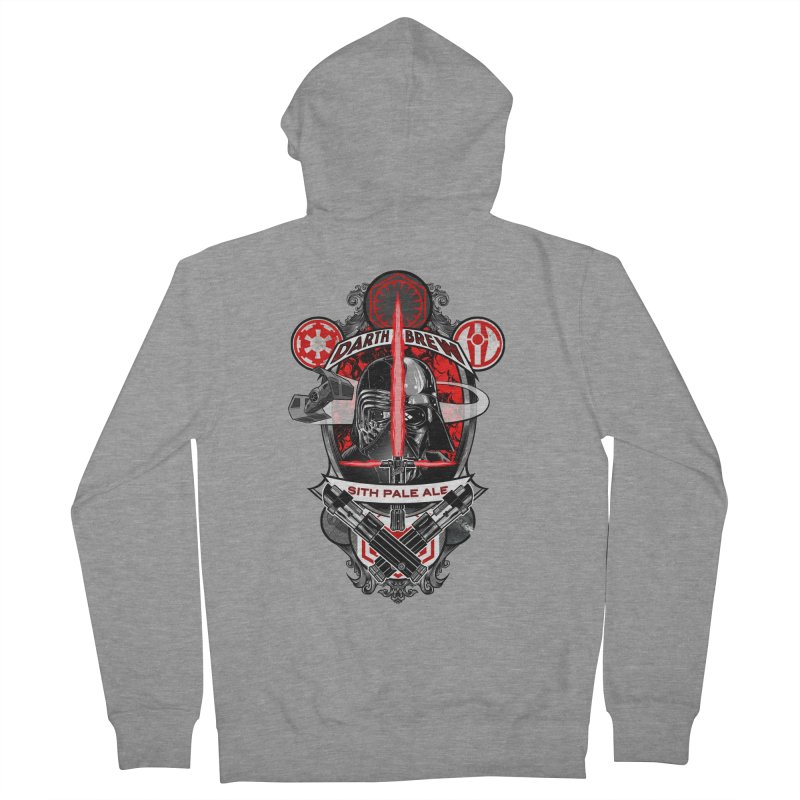 Darth Brew - Sith Pale Ale Women's Zip-Up Hoody by RazCity's Artist Shop
