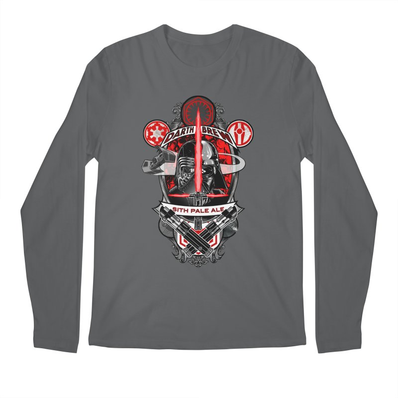 Darth Brew - Sith Pale Ale Men's Longsleeve T-Shirt by RazCity's Artist Shop
