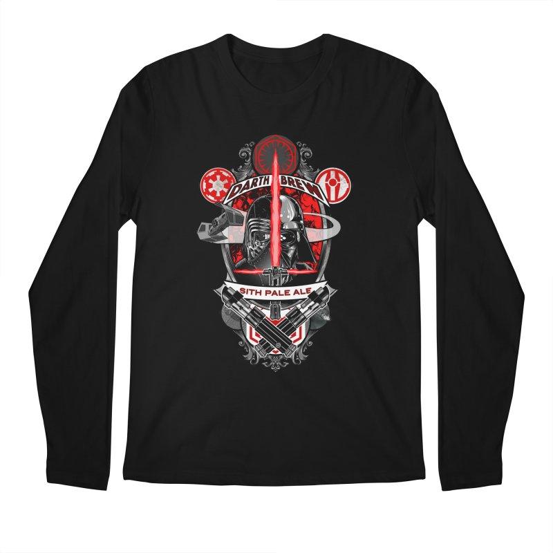 Darth Brew - Sith Pale Ale Men's Longsleeve T-Shirt by RazCity's Artist Shop