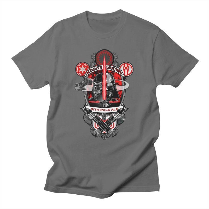 Darth Brew - Sith Pale Ale Men's T-shirt by RazCity's Artist Shop