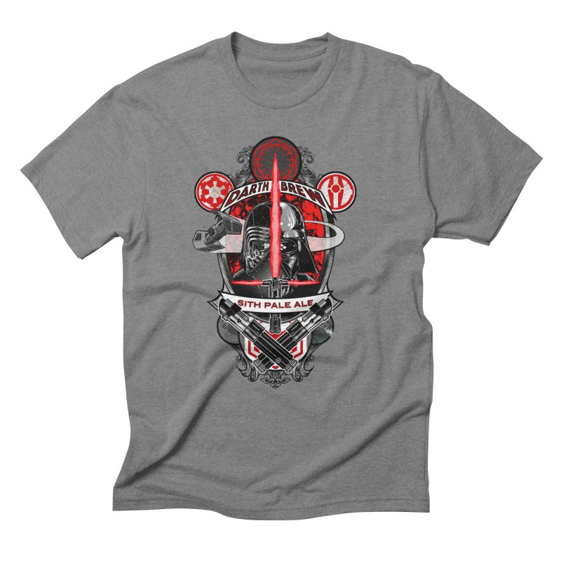 Darth Brew - Sith Pale Ale Men's Triblend T-Shirt by RazCity's Artist Shop