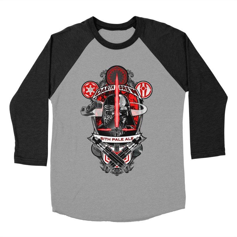 Darth Brew - Sith Pale Ale Men's Baseball Triblend T-Shirt by RazCity's Artist Shop