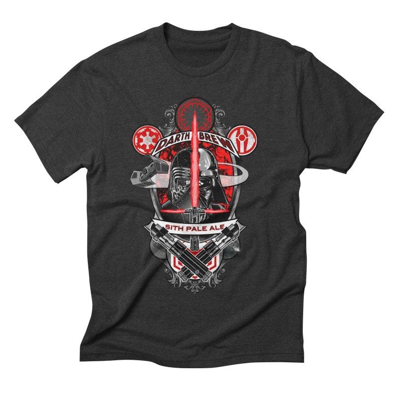Darth Brew - Sith Pale Ale Men's Triblend T-shirt by RazCity's Artist Shop