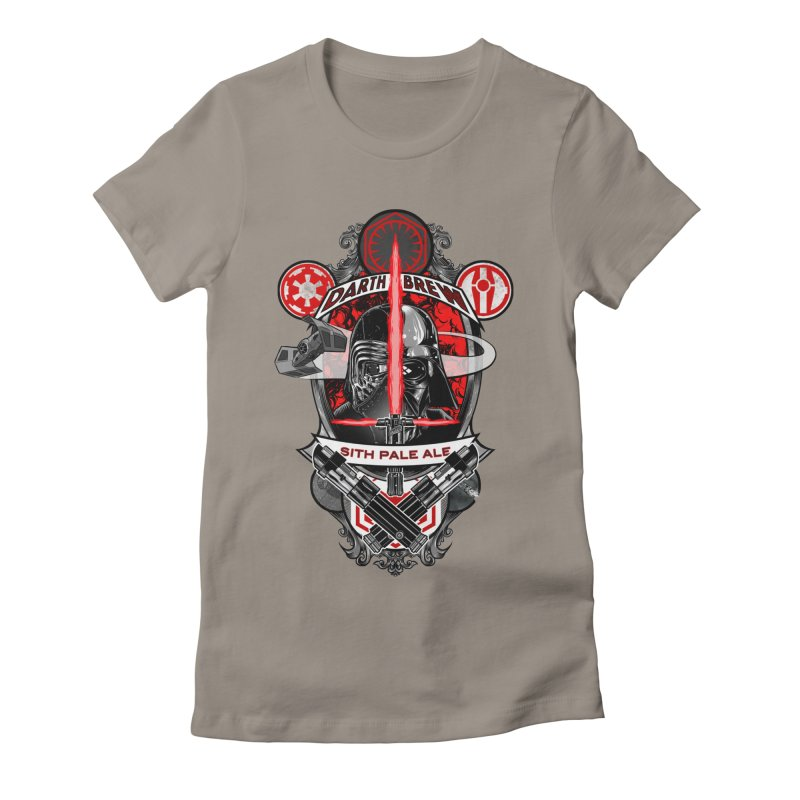 Darth Brew - Sith Pale Ale Women's Fitted T-Shirt by RazCity's Artist Shop
