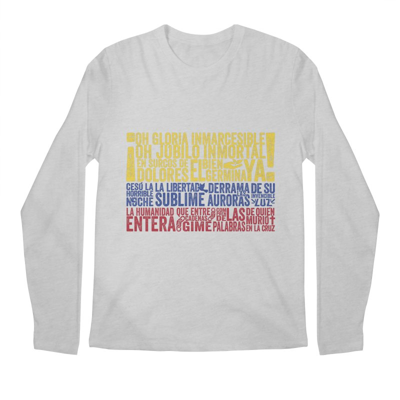 Bandera de Colombia Men's Longsleeve T-Shirt by Realismagico's Artist Shop