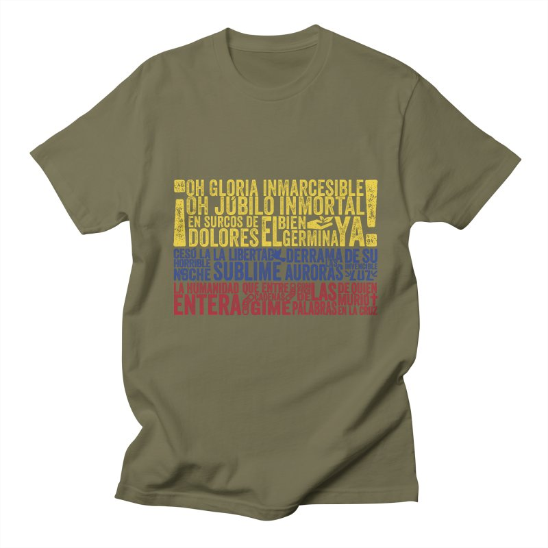 Bandera de Colombia Men's T-shirt by Realismagico's Artist Shop