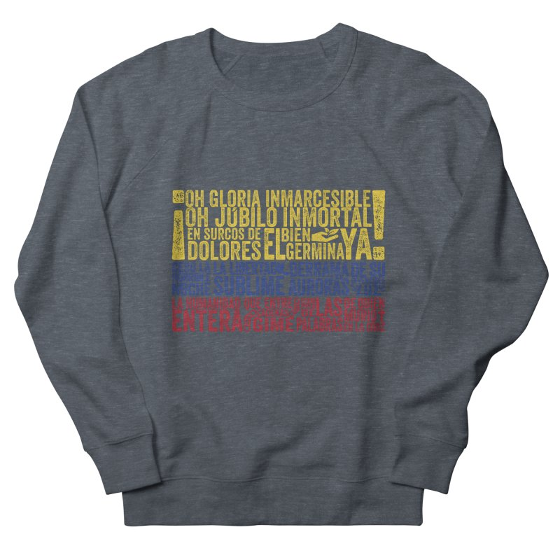 Bandera de Colombia Women's Sweatshirt by Realismagico's Artist Shop