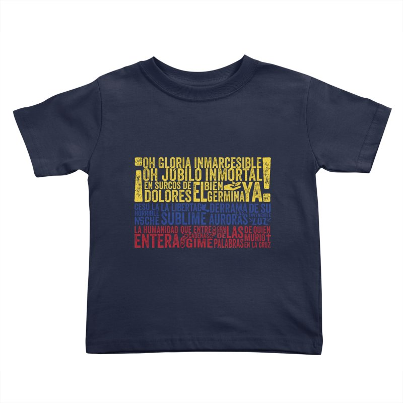 Bandera de Colombia Kids Toddler T-Shirt by Realismagico's Artist Shop