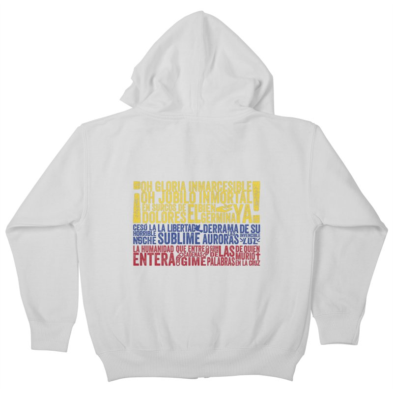 Bandera de Colombia Kids Zip-Up Hoody by Realismagico's Artist Shop