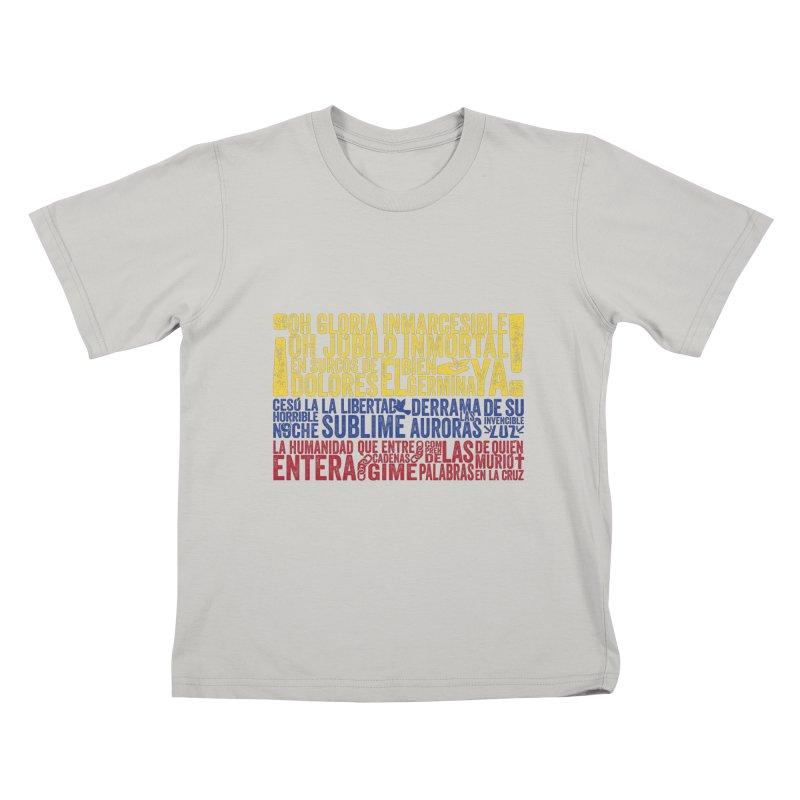 Bandera de Colombia Kids T-Shirt by Realismagico's Artist Shop