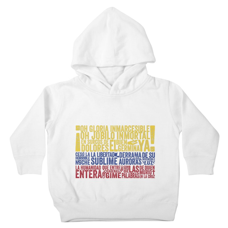 Bandera de Colombia Kids Toddler Pullover Hoody by Realismagico's Artist Shop