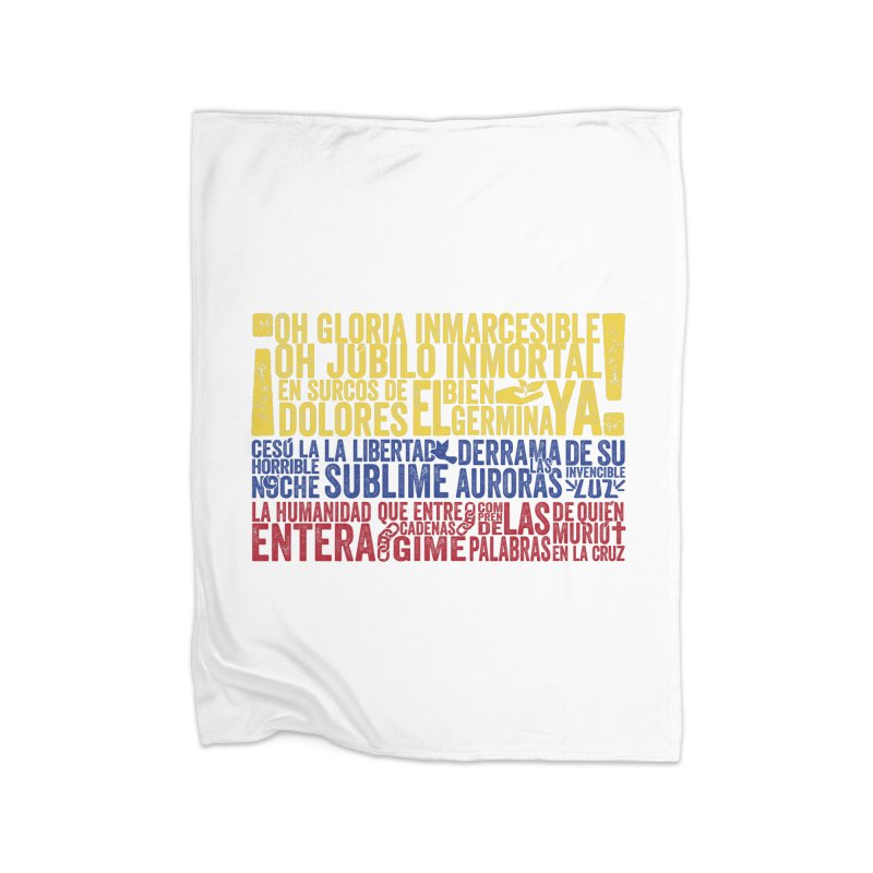 Bandera de Colombia Home Blanket by Realismagico's Artist Shop