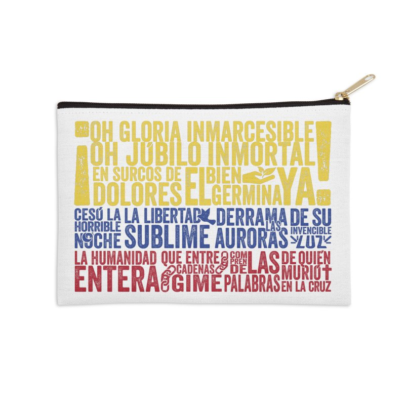 Bandera de Colombia Accessories Zip Pouch by Realismagico's Artist Shop