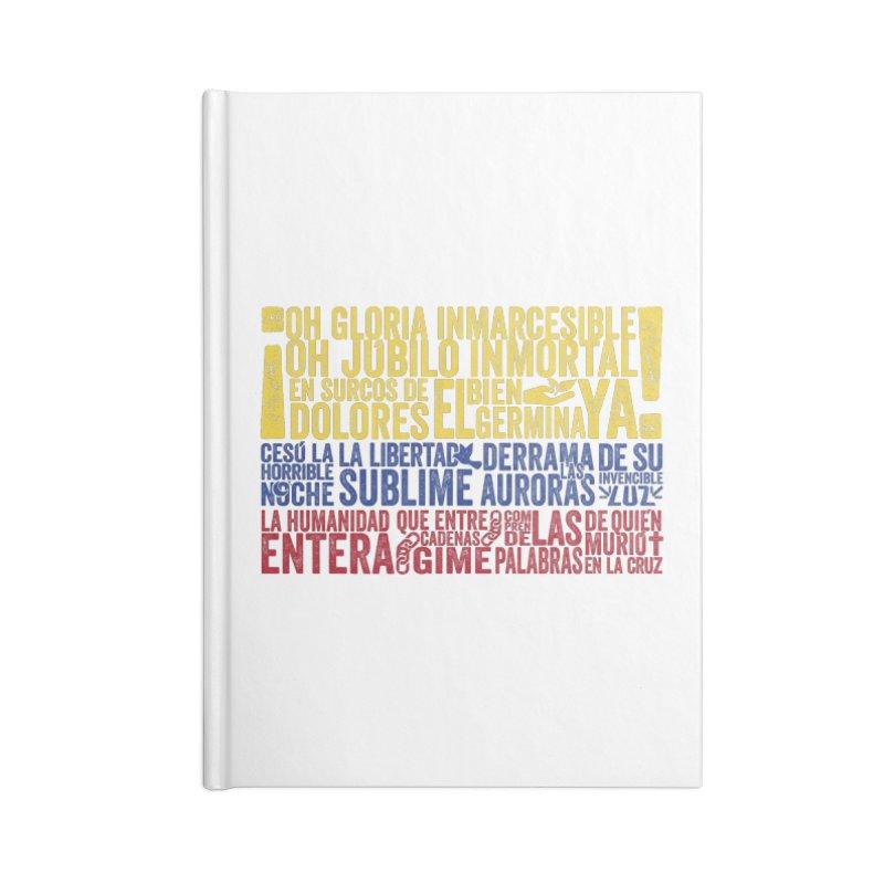 Bandera de Colombia Accessories Notebook by Realismagico's Artist Shop