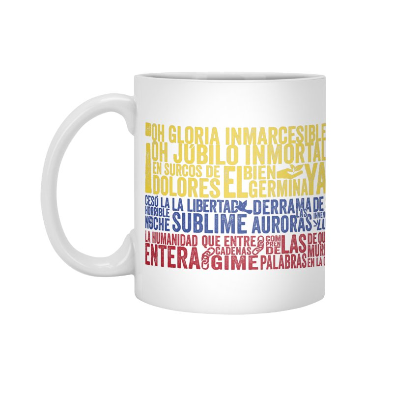 Bandera de Colombia Accessories Mug by Realismagico's Artist Shop