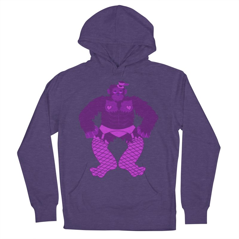 Showgirl Gorilla  Women's Pullover Hoody by Rebecca's Artist Shop