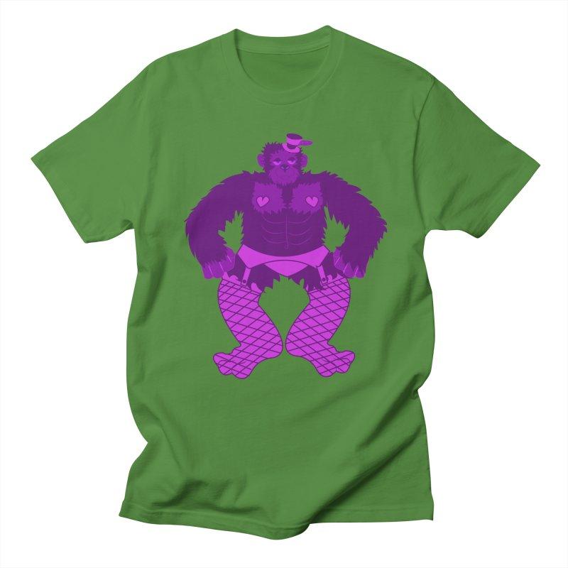 Showgirl Gorilla  Women's Unisex T-Shirt by Rebecca's Artist Shop