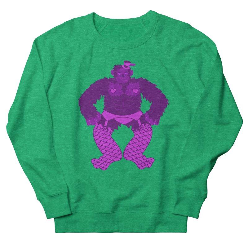 Showgirl Gorilla  Men's Sweatshirt by Rebecca's Artist Shop