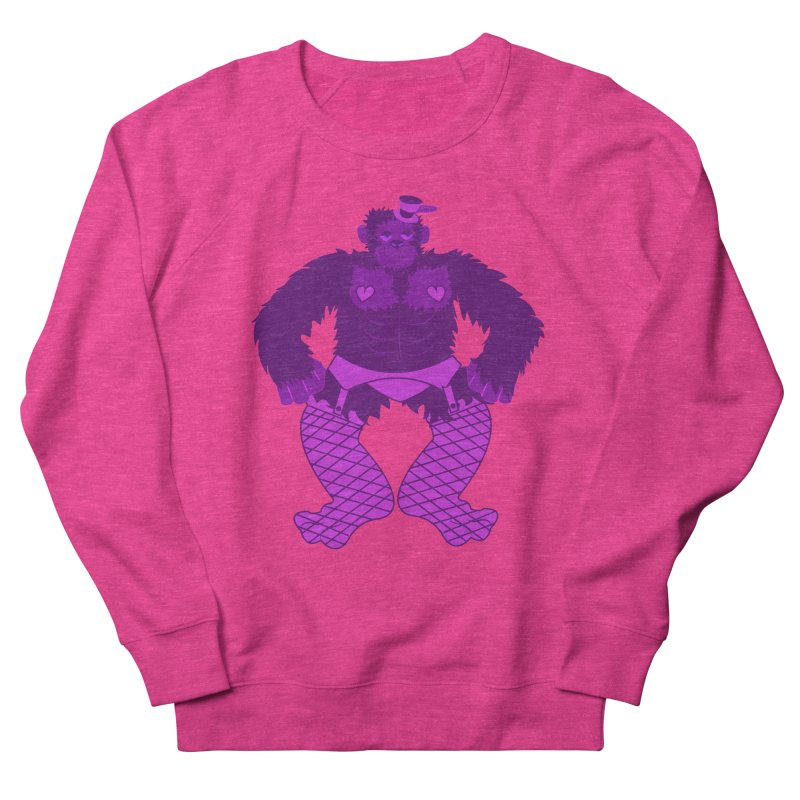 Showgirl Gorilla  Men's Sweatshirt by Rebecca's Artist Shop