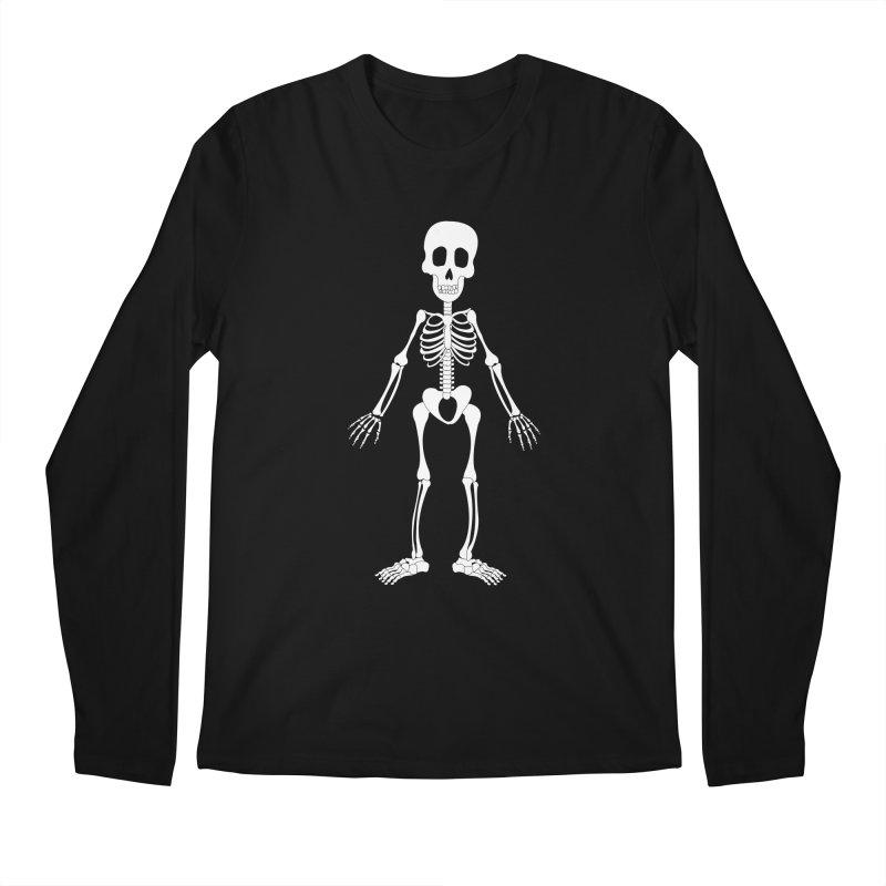 Skully Men's Longsleeve T-Shirt by Rebecca's Artist Shop